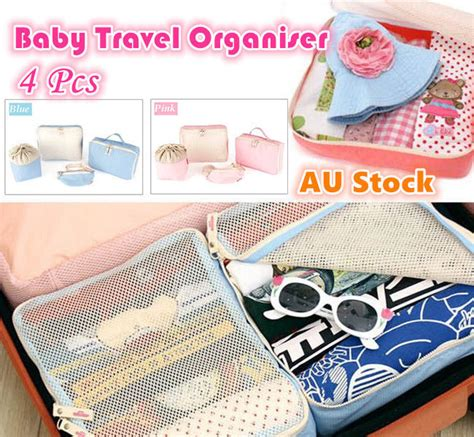 Accessory Of The Week The Bag 4 by 4 Baby Travel Bag Trips Organiser Clothes Accessories