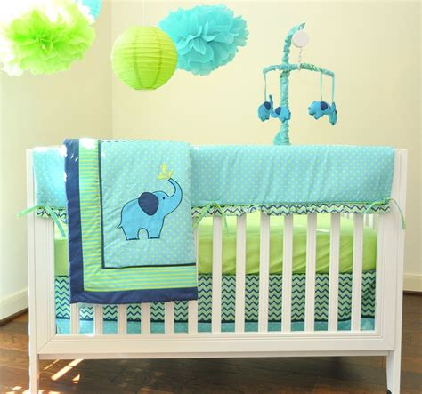 Elephant Baby Bedding Set Crib Bedding Set Elephant