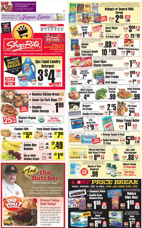 shoprite printable shopping list shoprite coupons and deals for the week of 3 24living rich