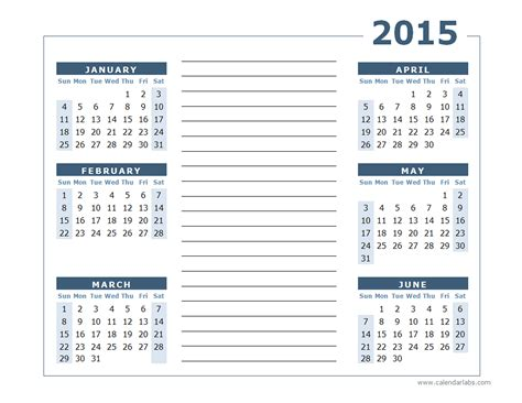best photos of 2015 yearly calendar template printable 2015 yearly