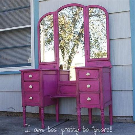 Pink Vanity Table Inspiration Pink Vanity Table For Every Paperblog