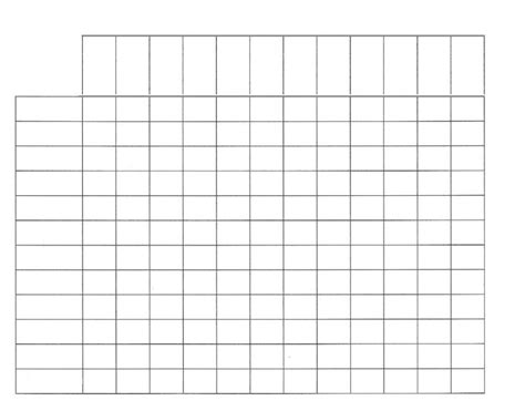table chart template 7 best images of blank table chart template free blank