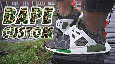 Adidas Nmd Xr1 Bape bape custom adidas nmd xr1 duck camo
