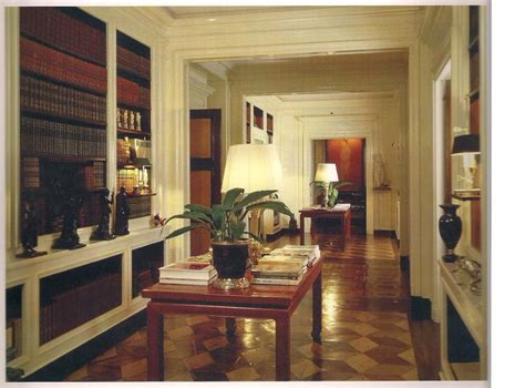 Ab Home Interiors the devoted classicist albert hadley the zen of seeing
