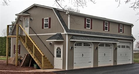 How To Build A 2 Car Garage garages three car two story raised roof garage double wide built on