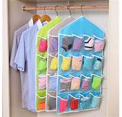 16 Pockets Hanging Door Wall Mounted Clothing Closet