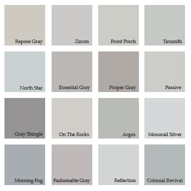 shades of grey color chart fashion pointers urbanluxeinc