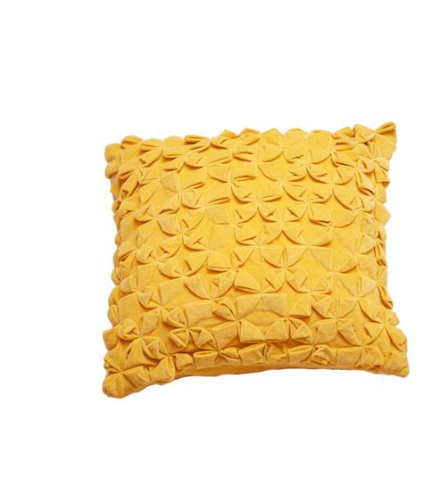 Yellow Velvet Cushion ranjakaa yellow velvet cushion covers buy at best