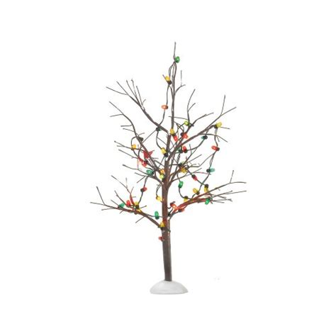 department 56 lighted christmas bare branch tree in the