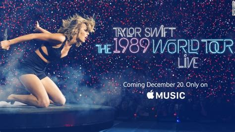 taylor swift and apple music taylor swift s 1989 world tour film coming to apple music