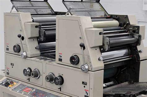 ryobi 924 4 color printing press ryobi 3302m two color printing press boggs equipment