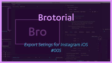 export adobe premiere instagram premiere pro cc 2015 export settings for instagram ios
