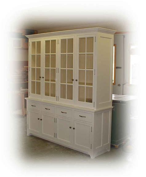 white buffet with hutch about us maclpine furniture