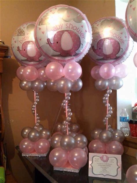 baby shower balloons centerpieces ideas para tu centros de mesa para baby shower