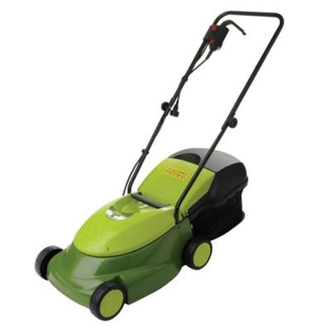 sun joe reconditioned 14 in electric lawn mower mj401e rm