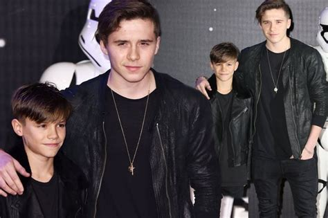 romeo beckham outfits brooklyn and romeo beckham wear matching outfits as they