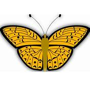 Monarch Butterfly Cartoon Clipart Image 23090