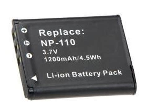 Battery Casio Np 110 1 baterai kamera casio np 110 oem black