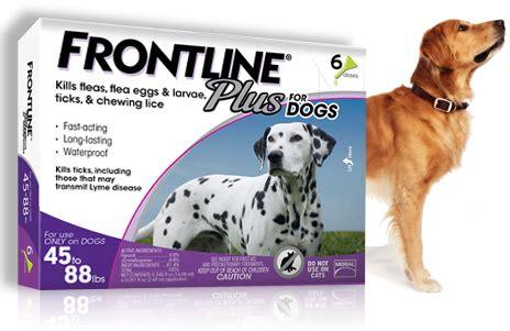 flea tick frontline plus dogs flea tick preventative treatment frontline 174 plus