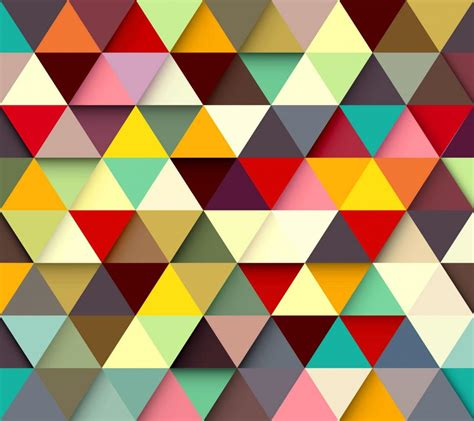 warna pattern 2 color paint triangle wallpaper 3d and abstract wallpaper better