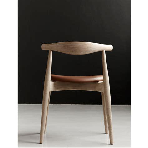 Leather Paint Sofa Elbow Chair By Hans J Wegner Ch20 Carl Hansen Amp S 248 N