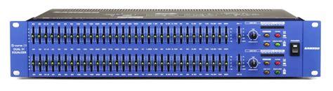 Samson S 3 S 3 S3 Way Stereo Mono Crossover Original samson s curve 231 graphic equalizer