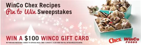 Winco Gift Card - pinterest sweepstakes archives queen bee coupons