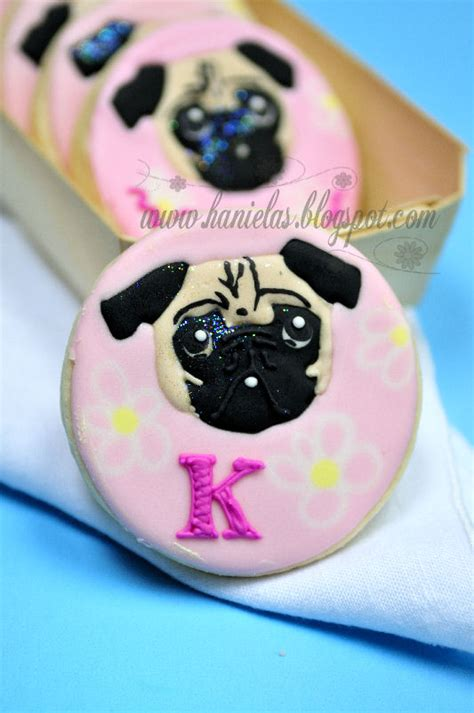 cookie pug haniela s pug cookies