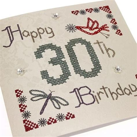 Handmade 30th Birthday Cards -