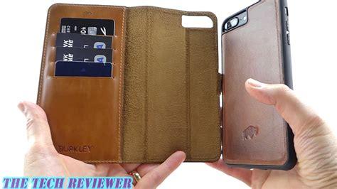 burkley magnetic detachable wallet case  iphone