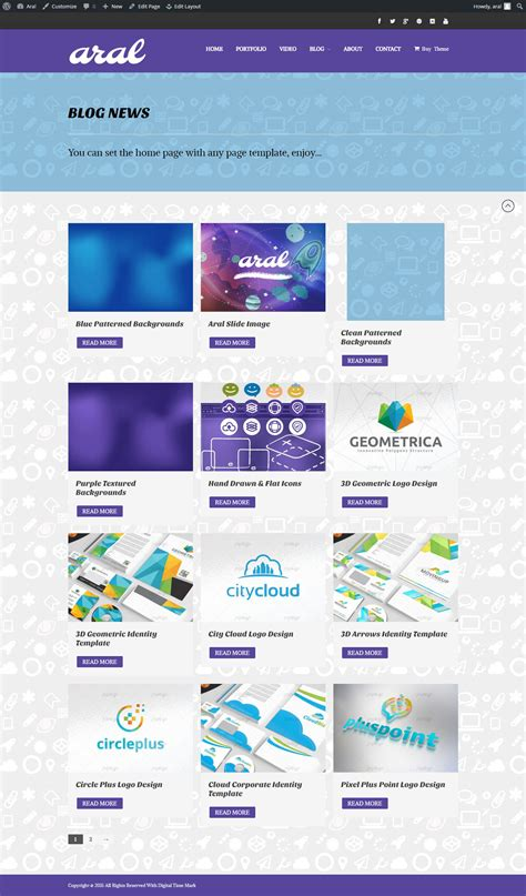 themes builder com aral application page theme builder wordpress landing