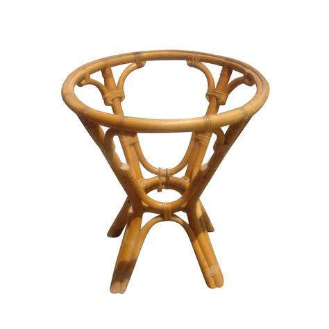 24 quot vintage rattan side table base ebay