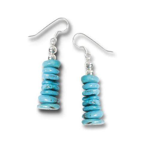 Stack Earrings turquoise stack earrings earrings jewelry