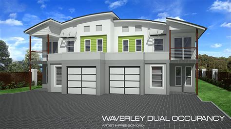 waverly dual occupancy home design tullipan homes