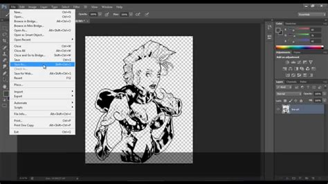 photoshop clean lineart tutorial how to clean line art in photoshop cs6 separating lines