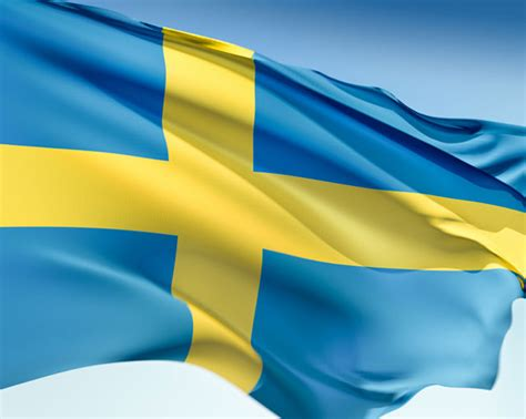 Swedish Colors by Graafix Wallpapers Flag Of Sweden