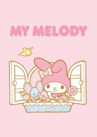 Mukena My Melody Sweet Pink my melody