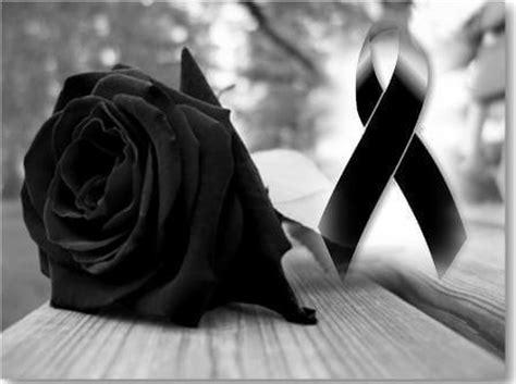 rosa de luto para portada de facebook lazos im 225 genes de lazos negros de luto para compartir imagenes