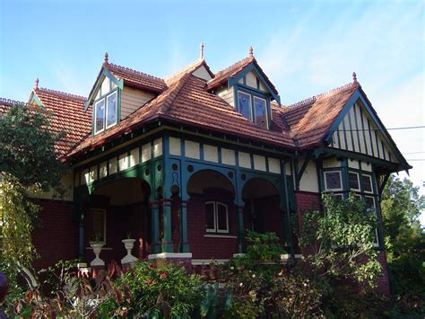 queen anne style homes file queen anne style house in ivanhoe victoria jpg