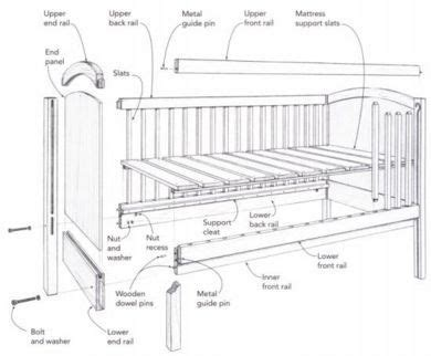 baby crib wood plans baby furniture plans diy baby