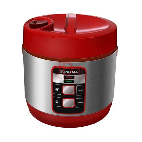 Daftar Rice Cooker Yongma jual yong ma digital rice cooker 2 l ymc114 merah jd id