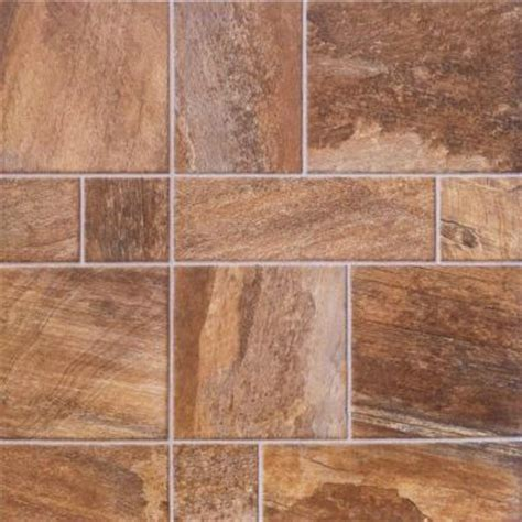 Locking Laminate Flooring Innovations Random Slate 8 Mm Thick X 15 1 2 In Wide X 46 1 2 In Length Click Lock