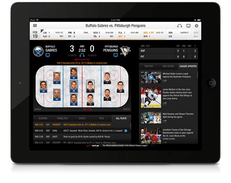 nhl mobile victor hwang nhl gamecenter mobile app
