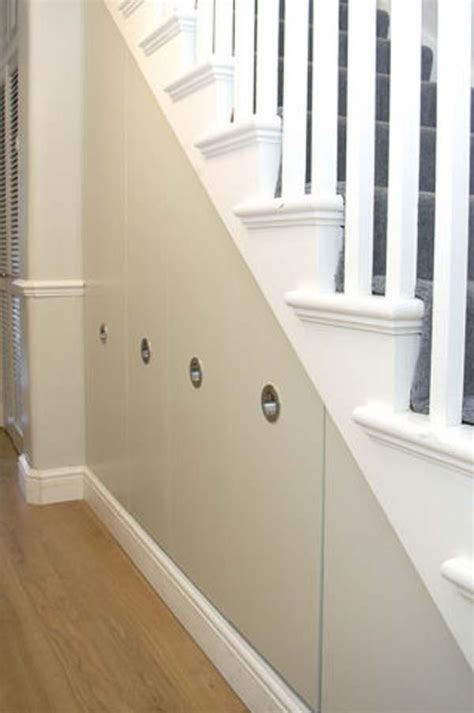 Stair Cabinet Designs by Stairs Storage Cabinet Design For The Home