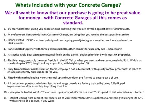 whats included pent roof duchess concrete garages garages uk