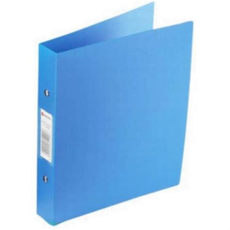 rexel budget 2 a4 ring binders 25mm blue pack of 10