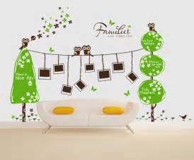 Wall sticker photo frame family tree wall decal in wall stickers from