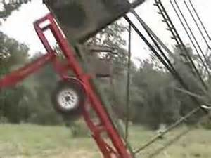 Red Neck Hunting Blinds Raising A Deer Blind Youtube