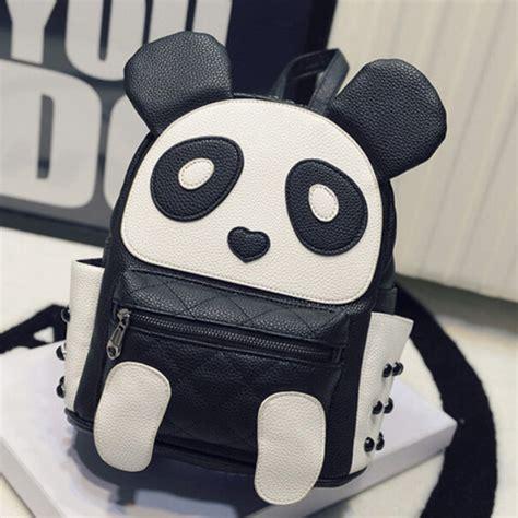 Tas Ransel Anak Panda 4435 Hitam buy grosir panda tas sekolah from china panda tas