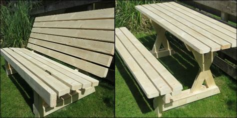 how to make picnic bench table your projects obn